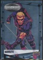 2015 Marvel Vibranium Trading Card #76 Hawkeye