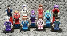 11 figurines de EVANGELION au format lego, neuves !!