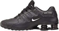 Nike Shox NZ EU Casual Shoes Black White 501524-091 Men's NEW
