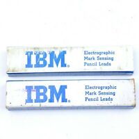 IBM Electrographic Mark Sensing Pencil Leads Vintage - 2 Boxes (Lot B)