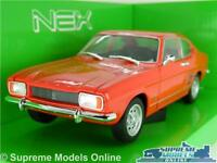 FORD CAPRI MK1 CAR MODEL 1969 1:24 SIZE RED WELLY NEX OPENING PARTS LARGE 60'S T