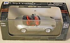 1/43 NEW RAY City Cruiser Die-cast car BMW Z8 in acrylic display NIB