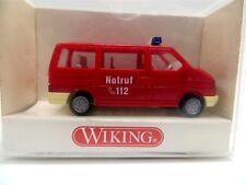 Wiking 60100 Feuerwehr Volkswagen VW Caravelle 1/87 HO Scale Die Cast