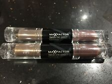 MAX FACTOR SMOKEY EYE EFFECT EYE SHADOW-PURPLE DUST - SET OF 2