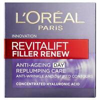 L'Oreal Revitalift Filler Renew Hyaluronic Acid Anti-Ageing Day Cream 50ml