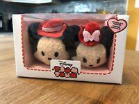 Disney Tsum Tsum 2017 Valentine's Day Chocolate Scented Mickey & Minnie - NIB!!!