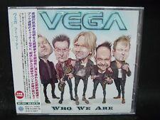 VEGA Who We Are + 1 JAPAN CD Harem Scarem Ted Poley House Of Lords Khymera