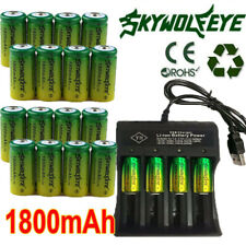 20pc Rechargeable 3.7V  CR123A Batteries for Netgear Arlo Security Camera