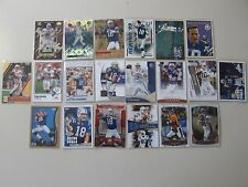 20x Peyton Manning lot, 1999 Upper Deck, Inserts, Fleer, SP, Topps/Bowman Chrome