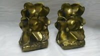 Vintage Bookends Dogwood Magnolia Flower Metalware PM Craftsman Eaton Park, Flor