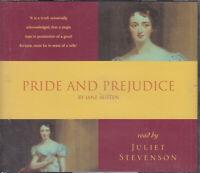 Jane Austen Pride And Prejudice 3CD Audio Book Juliet Stevenson Abridged