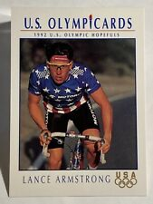 1992 Impel U.S. Olympic Hopefuls  Lance Armstrong/Cycling
