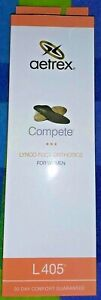 AETREX Lynco Womens 9 Compete Foot Orthotic Shoe Insoles Metatarsal Support L405