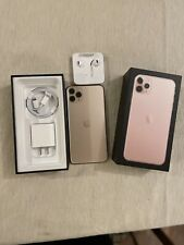 iPhone 11 Pro Max-256Gb -Rose Gold-Apple Warranty- All New Accessories -Unlocked
