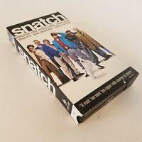 Snatch VHS Video Tape Brad Pitt Benicio Del Toro Guy Ritchie 2001