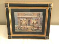 Coca Cola Uncle Joe's Trading Post 10 x 12 Framed Picture Manifeststayons Magic