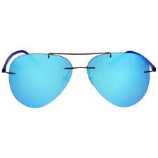 Ray Ban Blue Mirror Lenses Aviator Sunglasses
