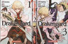 DRAKENGARD destinées écarlates tomes 1 à 3 manga seinen français SERIE COMPLETE