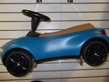 BMW Baby Racer III Turquoise and Caramel  Push Car Toy  80932413783