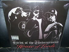 Lords of the Underground, House of Lords SEALED 2 LP Rap Explicit Lyric Hip Hop