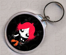 RUBY GLOOM round keyring - DOUBLE SIDED!