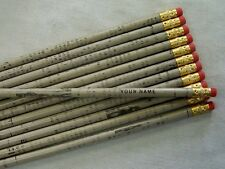 """12  """"RECYCLED NEWSPAPER""""   Personalized Pencils"""