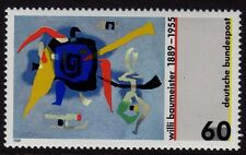 W Germany 1989 Willi Baumeister SG 2261 MNH