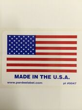 50 Made in the USA 2x3Label Labels Stickers Made in the USA eBay Labels 2x3