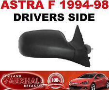 VAUXHALL ASTRA F MK3 MANUAL LEVER BLACK WING DOOR MIRROR 1994-98 RH DRIVER SIDE