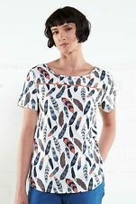 50%SALE Nomads Organic Cotton Feather T Shirt Sizes 10 and 16 Fairtrade -FR4005
