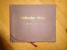 Stickmuster-Album der Firma Springer