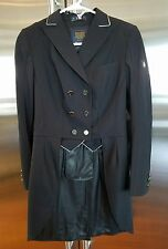 NWT Cavallo Vienna Shadbelly Tailcoat USA 8 black softshell D36