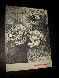 Callot and Daumier (Paperback) by A. Hyatt Mayor (Author) 1959