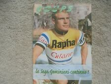 coups de pedales nr 103 team rapha gitane,merckx ,rudi altig