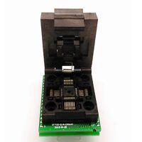 NEW Flap QFP32 TQFP32 PQFP32 TO DIP32 Universal Programmer Socket Adapter Convet