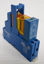 Finder 48.52.8.230.0060 Relay Interface Module DPDT 230VAC 8A DIN Rail
