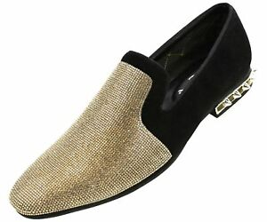 Mens Casual Shoes, Mens Slip On Shoes, Loafers for Men - Spiked Heel