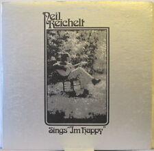 "NEIL REICHELT Sings ""I'm Happy"" LP Australian Xian/Folk/SSW –Private pres SIGNED"