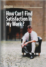How Can I Find Satisfaction In My Work? God Jesus Business Book