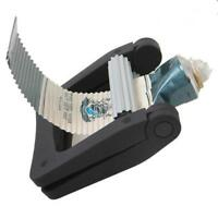 Plastic Toothpaste Tube Squeezer Rolling Dispenser Bathroom Holder Easy Extract