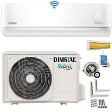 Split Klimaanlage A++ ECO Smart Inverter WiFi WLAN 12000btu/3,5kW +Kupferleitung