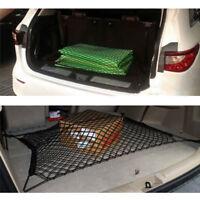 Durable Car SUV Rear Trunk Boot Floor Cargo Net Elastic Mesh Fixed Storage Set