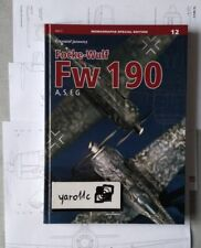 *Focke-Wulf Fw 190 A, S, F, G - Kagero Monograph Special English (HB) *N*E*W*!