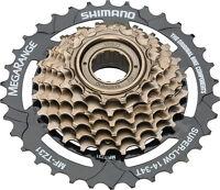 SHIMANO MEGARANGE 7 SPEED MF-TZ31----14-34T BROWN MTB-CRUISER BICYCLE FREEWHEEL