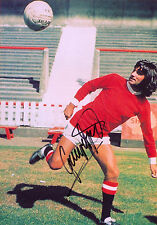 George Best Signed PP Autograph Print Hologram Cert Football Manchester United