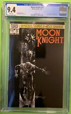 MOON KNIGHT #25 (1982) CGC 9.4 NM 1st APPEARANCE of the BLACK SPECTRE MOENCH