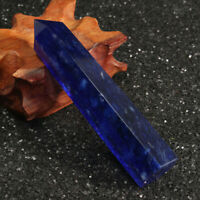 US Natural Rock Lapis Lazuli Quartz Crystal Stone Point Healing Wand Obelisk