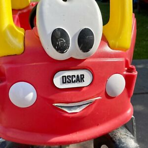 Little Tikes FRONT Number Plate - 3D Printed personalised - for COZY COUPE CAR