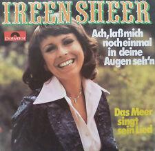 """7"""" 1975 MINT- ! IREEN SHEER : Ach laß mich noch einmal in Deine Augen sehn"""