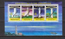 Philippine Specimen 2005 Lighthouses Souvenir Sheet MNH